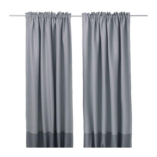 MARJUN Block-out curtains, 1 pair - IKEA