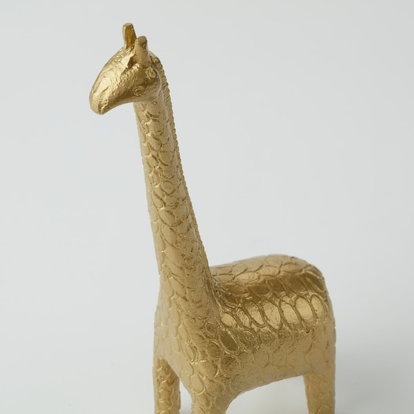 """MARKNIVÅ Decoration, giraffe brass color, 8 ¼ """""""
