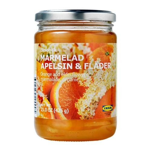 marmelad apelsin fl der orange and elderflower marmalade ikea. Black Bedroom Furniture Sets. Home Design Ideas
