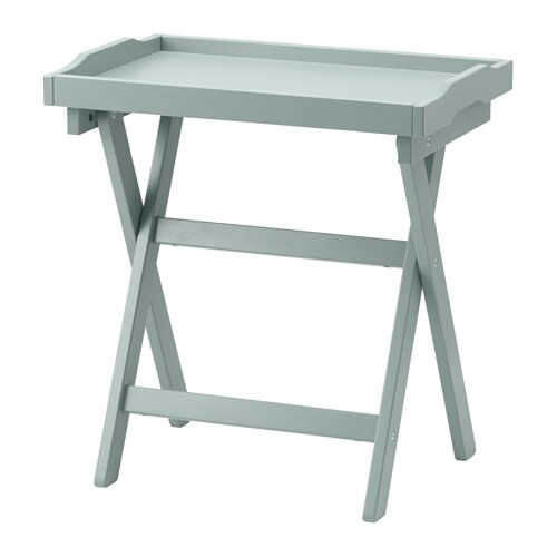 Ikea Glass Cabinet Extra Shelves ~ MARYD Tray table IKEA You can fold the table and put it away when it
