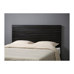MATHOPEN headboard, black-brown