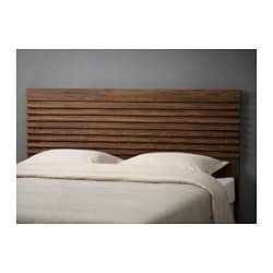 MATHOPEN headboard, medium brown