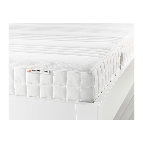 MATRAND Latex mattress - Queen, medium firm/white  - IKEA
