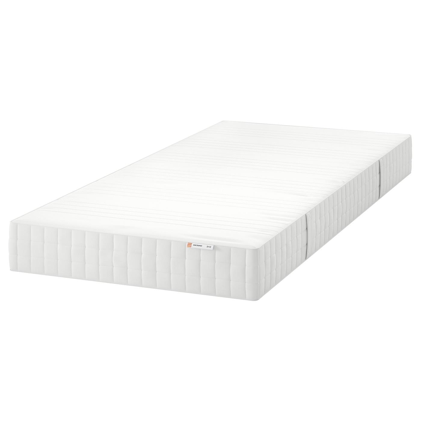 Merveilleux MATRAND   Memory Foam Mattress, Firm, White