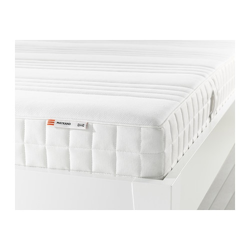 matrand memory foam mattress firm white twin ikea. Black Bedroom Furniture Sets. Home Design Ideas