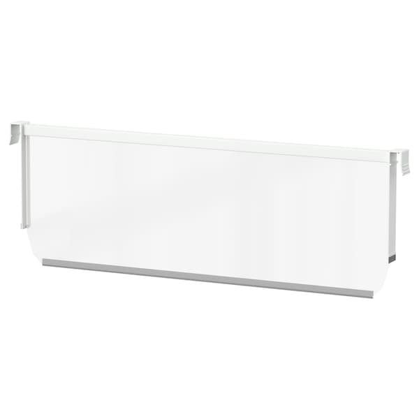 """MAXIMERA Divider for high drawer, white/clear, 24 """""""