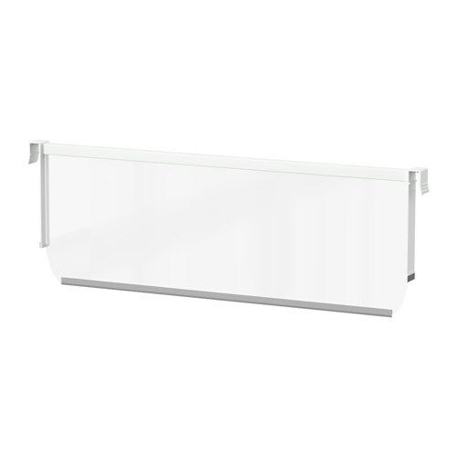 MAXIMERA Divider for high drawer IKEA You can customize your storage with the help of adjustable dividers.