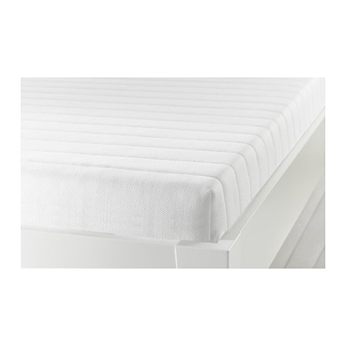 MEISTERVIK Foam mattress, firm, white Full firm/white