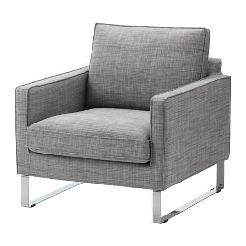 Mellby chair isunda gray ikea - Fauteuil mellby ikea ...