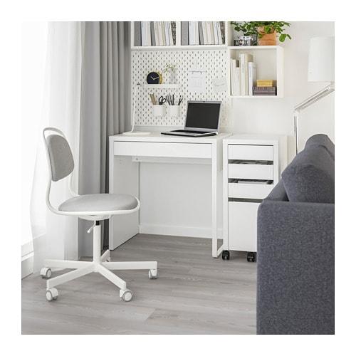 MICKE - Desk, white