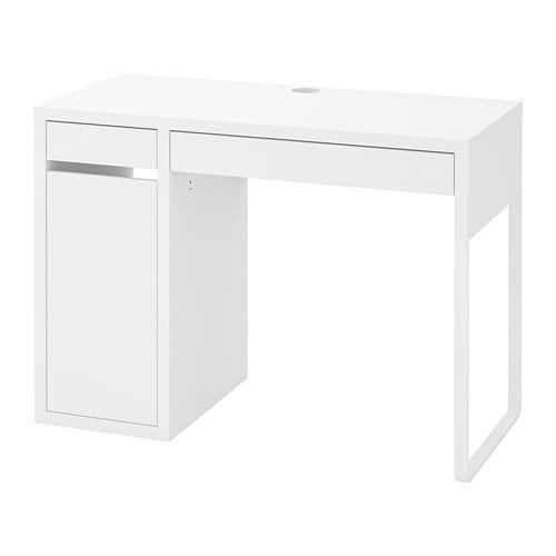 Admirable Micke Desk White Download Free Architecture Designs Scobabritishbridgeorg