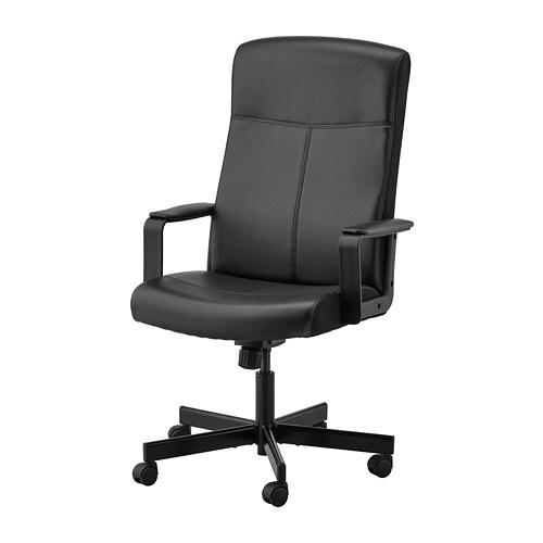 Attirant MILLBERGET   Swivel Chair, Bomstad Black