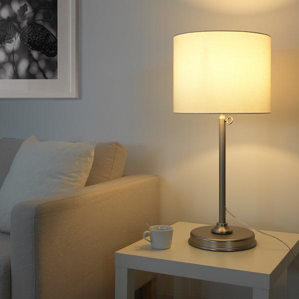 IKEA MILLERYR Table lamp with led bulb