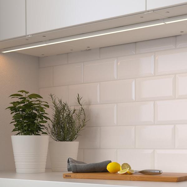 "MITTLED LED kitchen cntrtp lighting strip, dimmable white, 12 """
