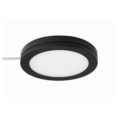 MITTLED LED spotlight, dimmable black