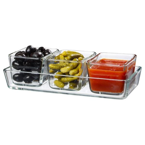 IKEA MIXTUR Oven/serving dish, set of 4