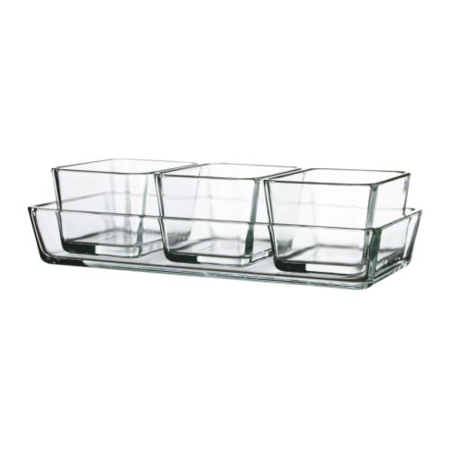 MIXTUR Oven/serving dish, set of 4 IKEA