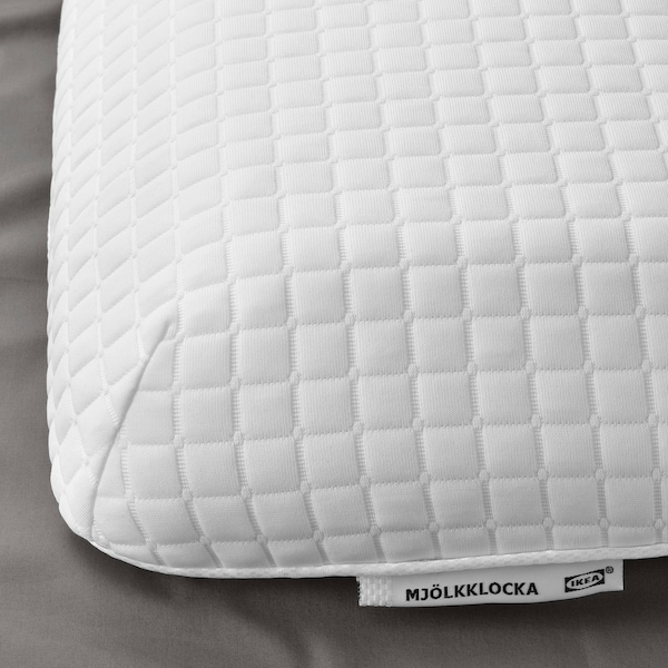 IKEA MJÖLKKLOCKA Ergonomic pillow, side/back sleeper