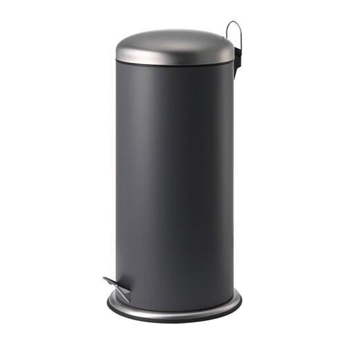 MJÖSA Pedal bin, dark gray