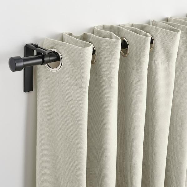 """MOALINA Curtains, 1 pair, green, 57x98 """""""