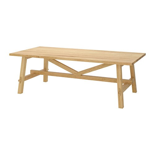 Sensational Mockelby Table Oak Home Interior And Landscaping Ferensignezvosmurscom