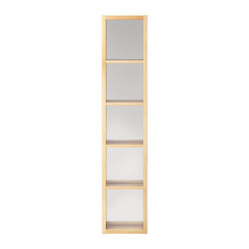 molger mirrored shelf unit birch ikea. Black Bedroom Furniture Sets. Home Design Ideas