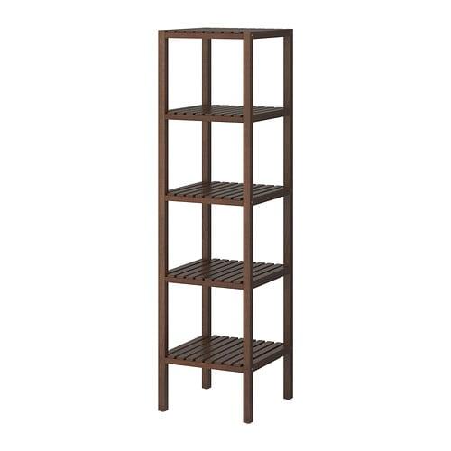 molger shelving unit dark brown ikea. Black Bedroom Furniture Sets. Home Design Ideas