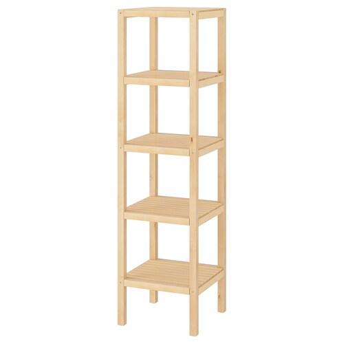 Molger Shelf Unit Birch 14 5 8x55 1 8
