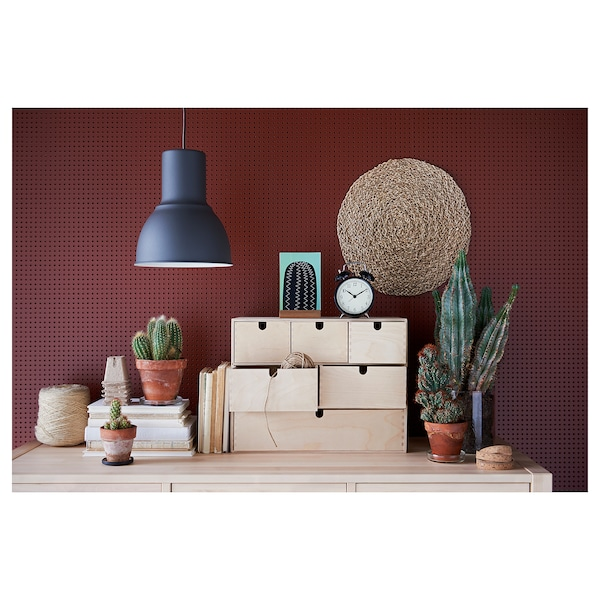 """MOPPE Mini storage chest, birch plywood, 16 ½x7x12 5/8 """""""