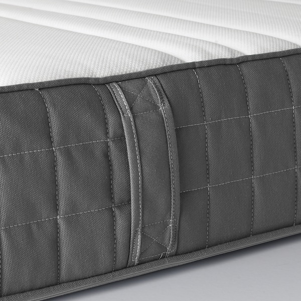 MORGEDAL Foam mattress, firm/dark gray, Twin