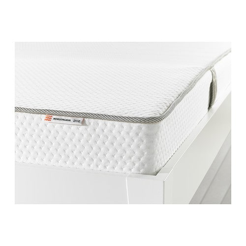 MORGONGÅVA Natural latex mattress, medium firm, natural Queen medium firm/natural