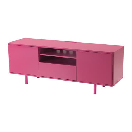 MOSTORP TV unit - pink - IKEA