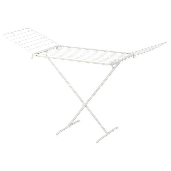 MULIG Drying rack, indoor/outdoor, white