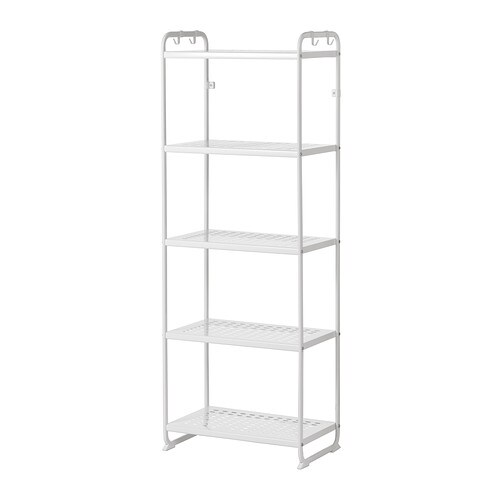 Mulig shelving unit white 22 7 8x13 3 8x63 3 4 ikea for 50cm deep kitchen units