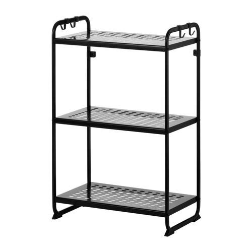 mulig shelving unit black 22 7 8x13 3 8x35 3 8 ikea. Black Bedroom Furniture Sets. Home Design Ideas