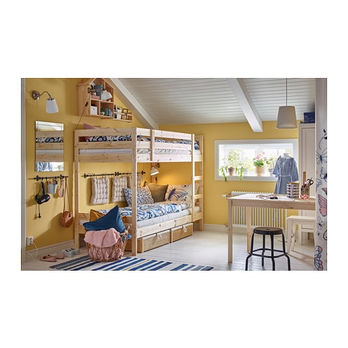 Mydal Bunk Bed Frame Ikea