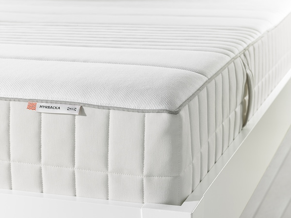 myrbacka foam mattress plush white ikea. Black Bedroom Furniture Sets. Home Design Ideas