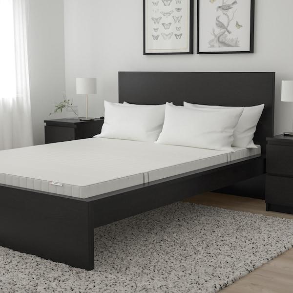 MYRBACKA Memory foam mattress, firm/white, Queen