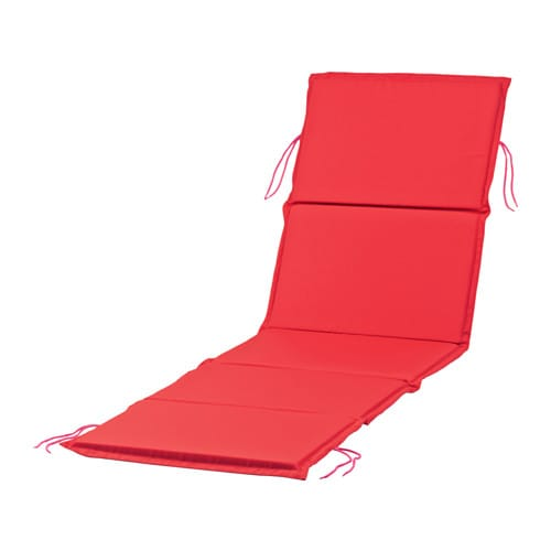 N st n chaise pad red ikea - Chaise ikea plastique ...