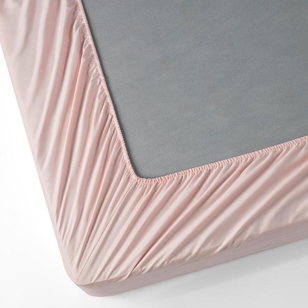 NATTJASMIN Sheet set, pale pink, Queen