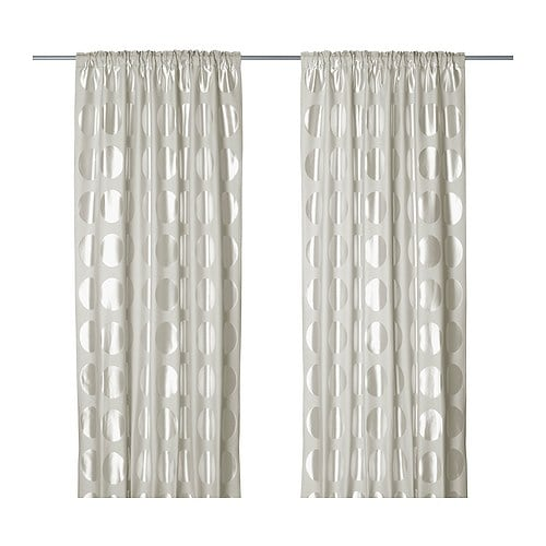 NINNI RUND Pair of curtains IKEA