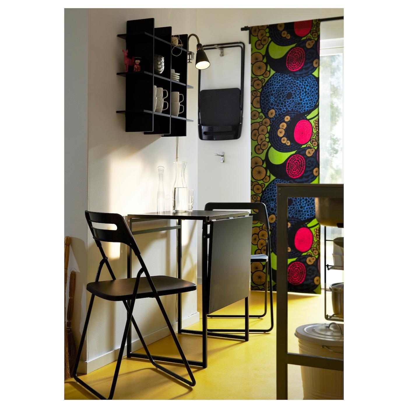Nisse Folding Chair Black Ikea