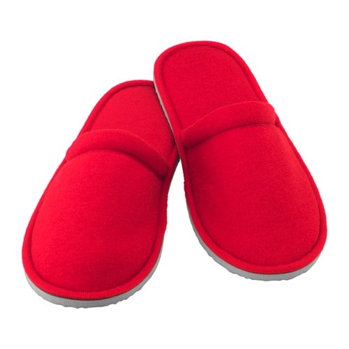 Njuta slippers s m red ikea for H m bedroom slippers