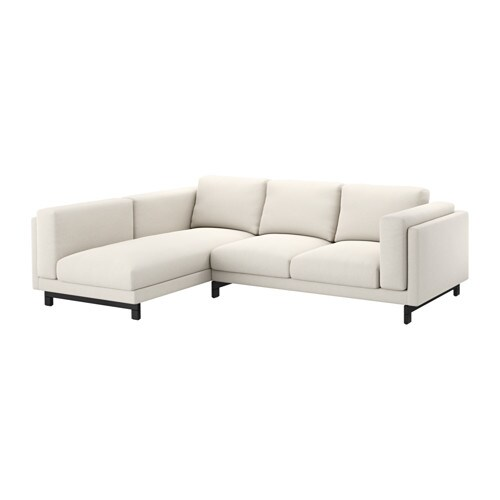 nockeby loveseat with chaise left left tallmyra light. Black Bedroom Furniture Sets. Home Design Ideas