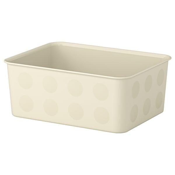 """NOJIG Organizer, plastic/beige, 7 ¾x9 ¾x4 """""""