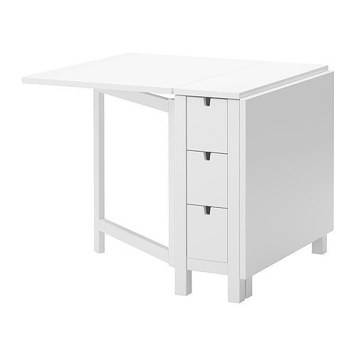 Ikea Wickelkommode Stuva Test ~ NORDEN Gateleg table IKEA Table with drop leaves seats 2 4; makes it