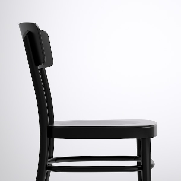 """NORDEN / IDOLF table and 4 chairs birch/black 61 """" 35 3/8 """" 29 1/8 """""""