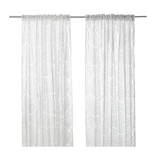 NORDIS Sheer Curtains, 1 Pair   IKEA