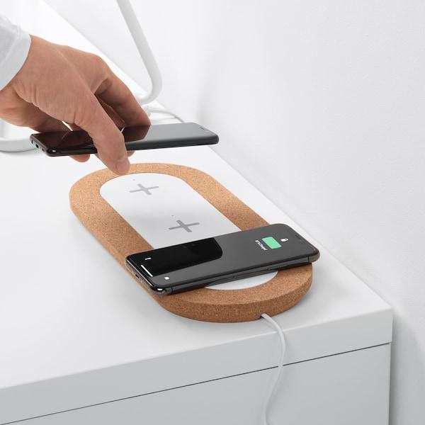 IKEA NORDMÄRKE Triple pad for wireless charging