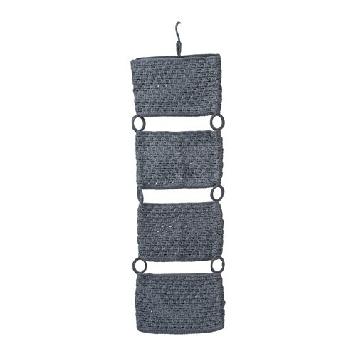 NORDRANA Hanging storage, gray gray -